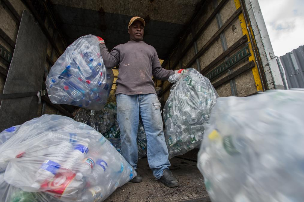 Bottle Recycling Facility: It Takes a Toll