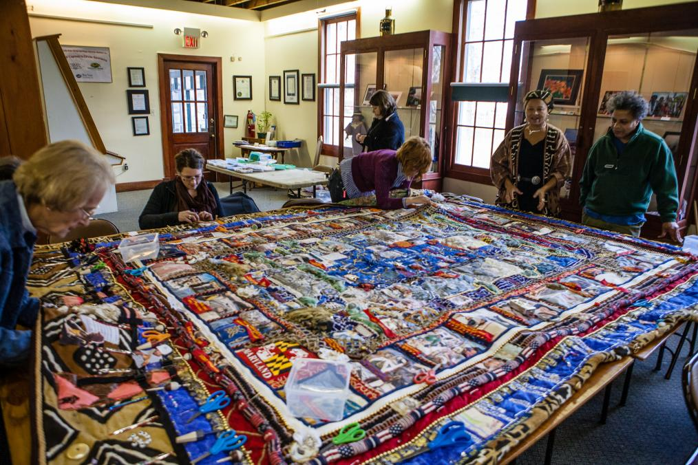 Black Watermen of the Chesapeake Historical Quilt