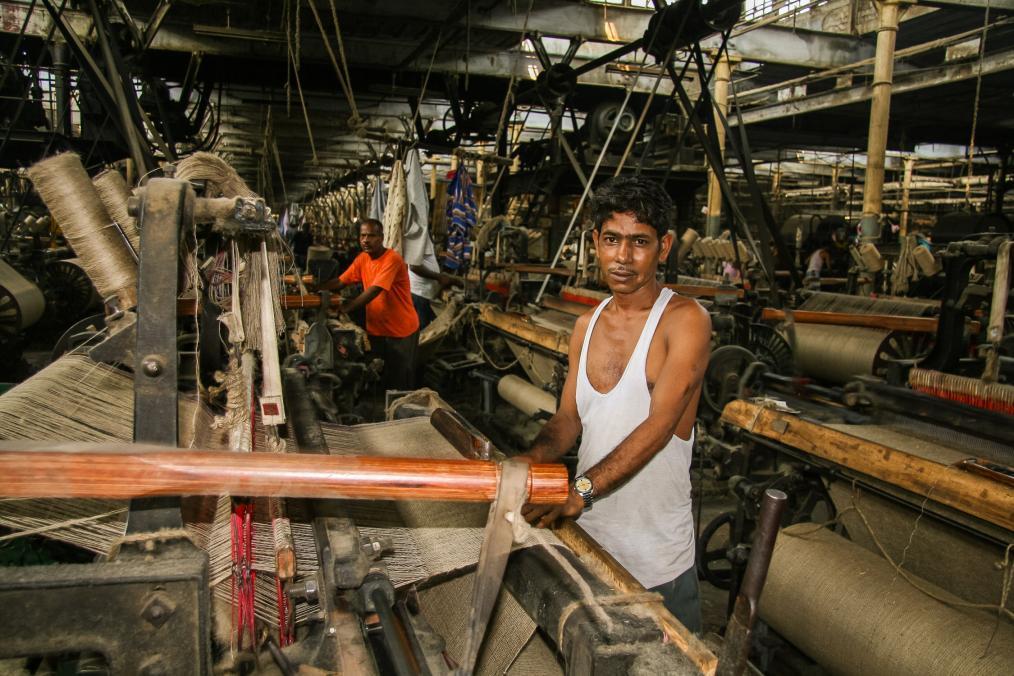 Jute Mill Workers in Kolkata, India