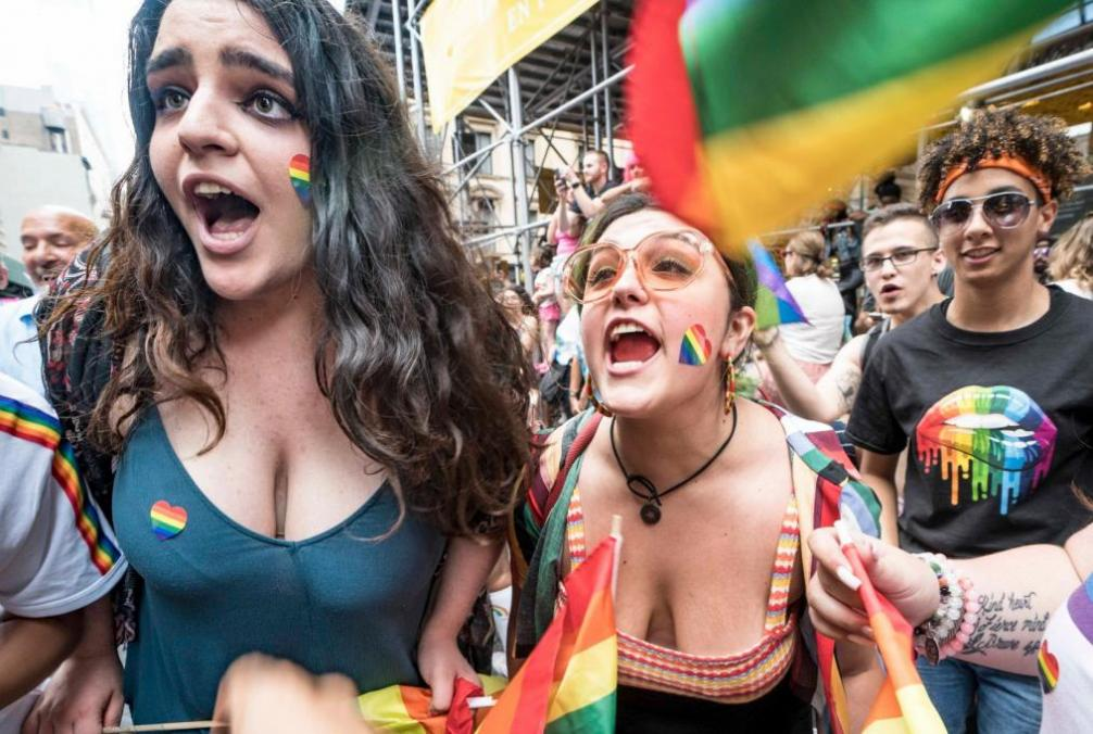 Joy and Confrontation Four Years at the Gay Pride Parades in New York City