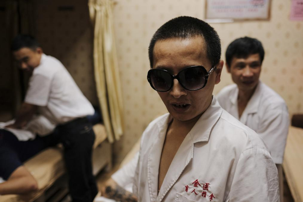 Blind Masseurs from China