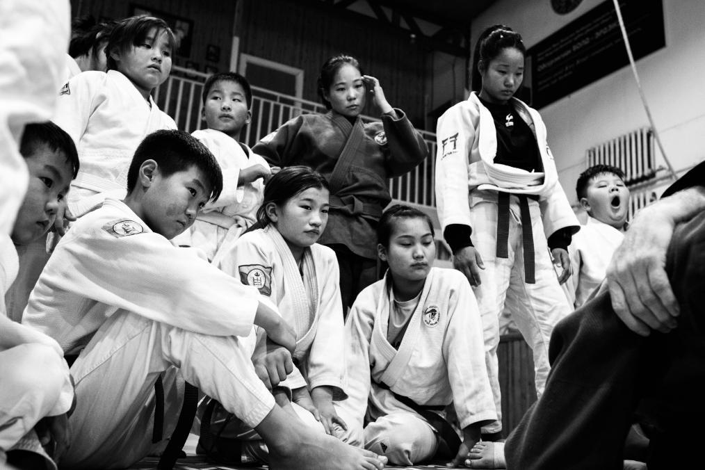 Mongolian Grappling Culture