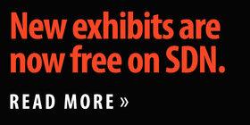 New exhibits now free